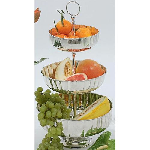 Трехъярусная фруктовница HOFF Interieur Maxim, фото