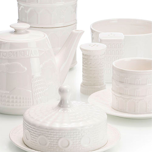 Белый керамический заварник Palais Royal История города, фото