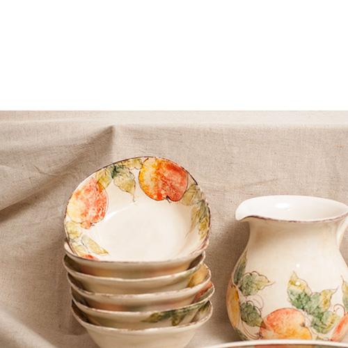 Тарелка для супа Bizzirri Персики, фото