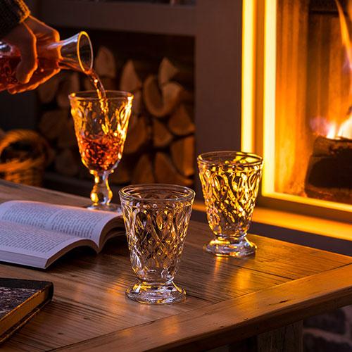 Голубой бокал La Rochere Lyonnais для вина, фото