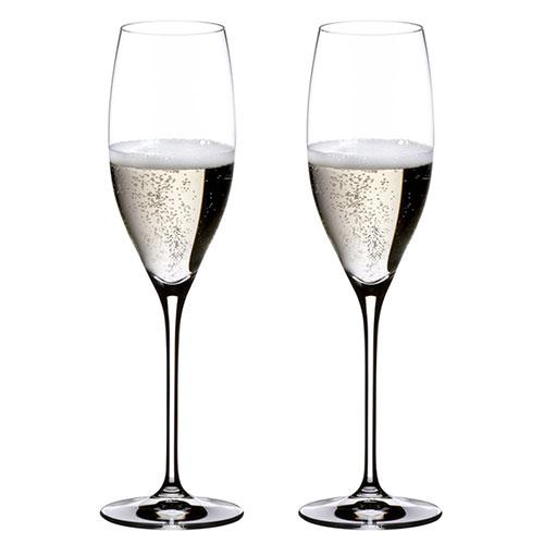 Два бокала Riedel Vinum для шампанского, фото