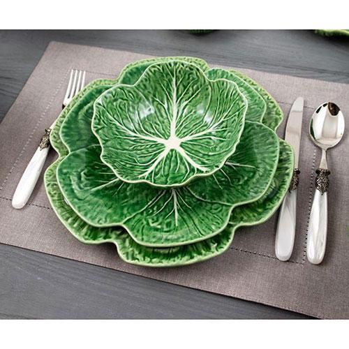 Керамическая тарелка Bordallo Pinheiro Капуста 30,5см, фото