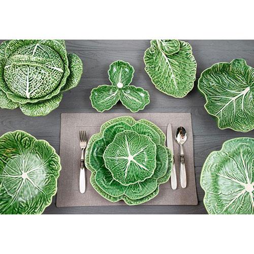 Менажница Bordallo Pinheiro Капуста из керамики, фото