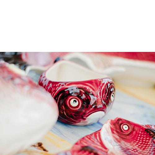 Салатник Bordallo Pinheiro Сердитая рыба, фото