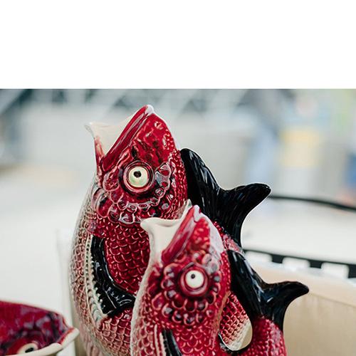 Кувшин Bordallo Pinheiro Рыбка, фото