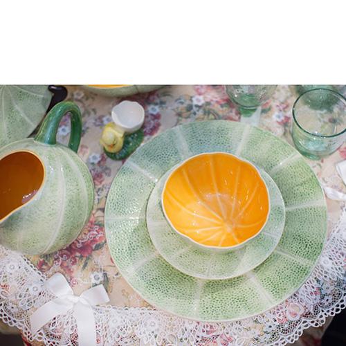 Тарелка Bordallo Pinheiro Дыня, фото