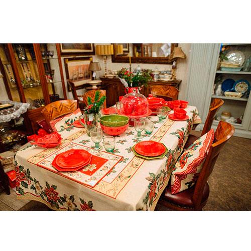 Новогоднее блюдо для закусок в виде елки Bordallo Pinheiro Рождество 18,5x15,5см, фото