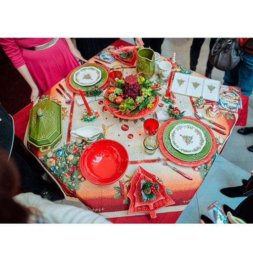 Блюдо для закусок в виде елки Bordallo Pinheiro Рождество 27,5x23,5см, фото