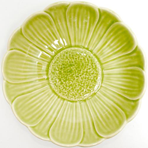Набор из 6 пиал Bordallo Pinheiro Кувшинка зеленого цвета, фото
