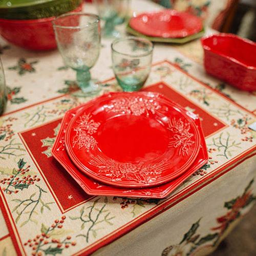 Десертная тарелка Bordallo Pinheiro Зима, фото