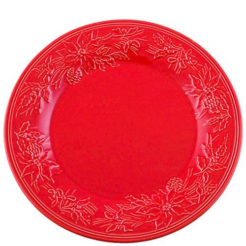 Красная тортовница Bordallo Pinheiro Зима, фото