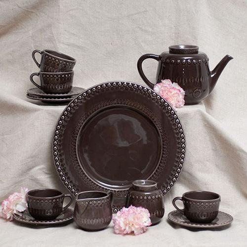 Молочник Bordallo Pinheiro Фантазия коричневого цвета, фото