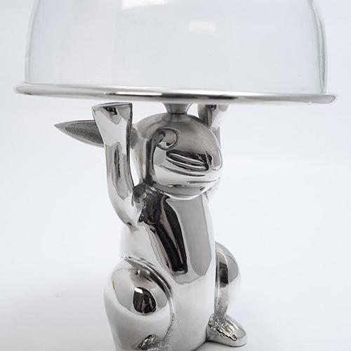 Тортовница на ножке HOFF Interieur Bunny, фото