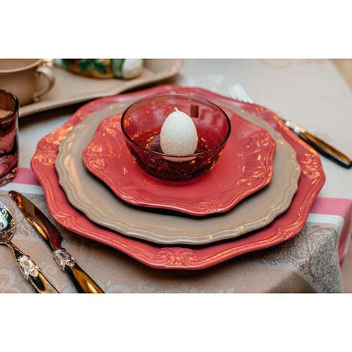 Стеклянная пиала Comtesse Milano Matisse сливового цвета, фото