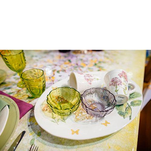 Набор пиал Livellara Rococo разных цветов, фото