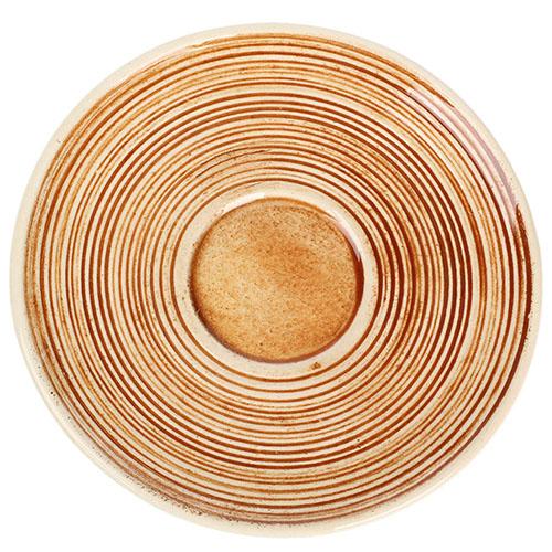 Кофейный набор Manna Ceramics оранжевого цвета ручной работы разрисованная глазурью 150 мл, фото