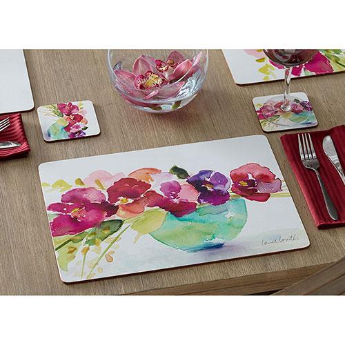 Набор подставок для сервировки Cala Home Bowl of Blooms 4шт, фото