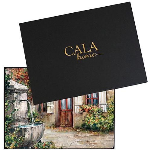 Набор ковриков на стол Cala Home Tuscan Doorways 4шт, фото