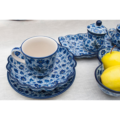 Кружка Ceramika Artystyczna с цветами, фото