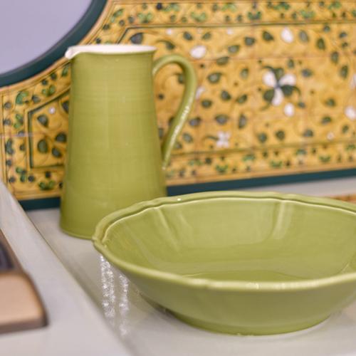 Кувшин Villa Grazia Яркое лето салатового цвета 2,5л, фото