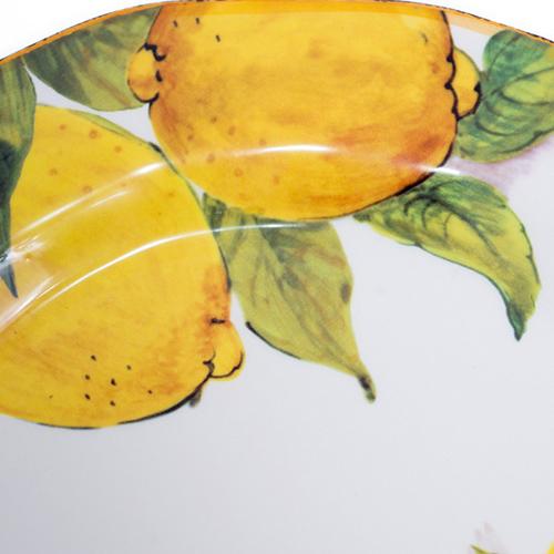 Тарелка обеденная Bizzirri Лимоны, фото