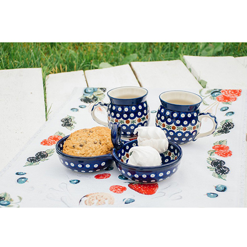 Пиала двойная Ceramika Artystyczna Волшебная синева, фото