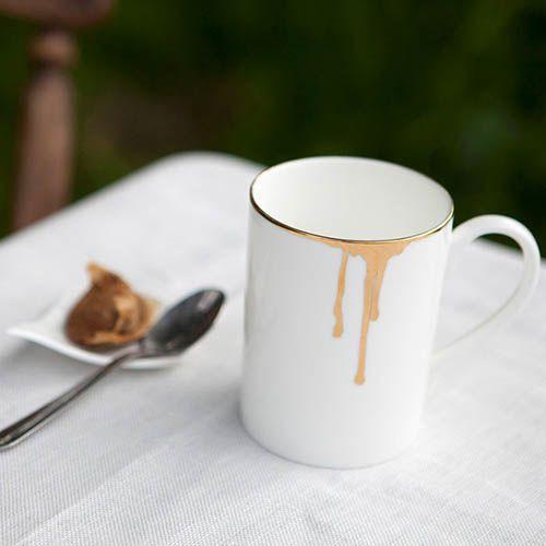 Фарфоровая чашка Reiko Kaneko Rip Gold, фото