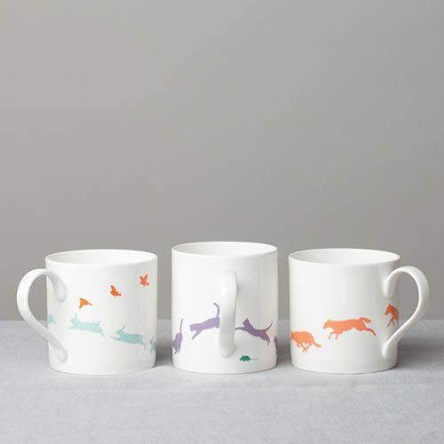 Фарфоровая чашка Reiko Kaneko Bunny and Bird, фото