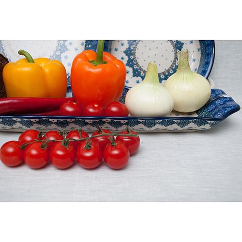 Блюдо для канапе Ceramika Artystyczna продолговатое , фото