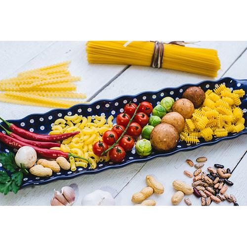 Блюдо для канапе Ceramika Artystyczna Весенний сад, фото