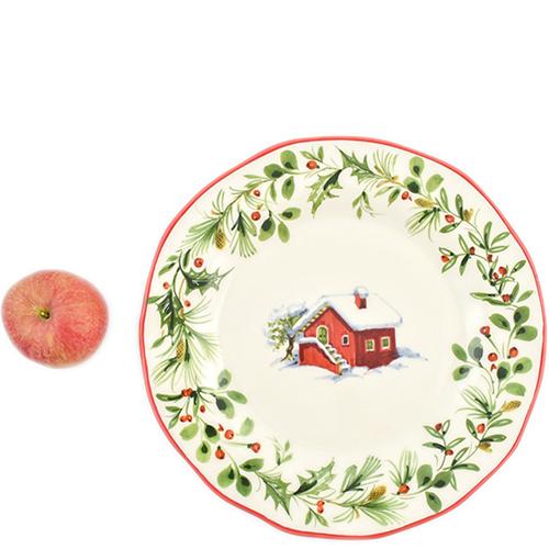 Тарелка обеденная Villa Grazia Лесная сказка 30см, фото