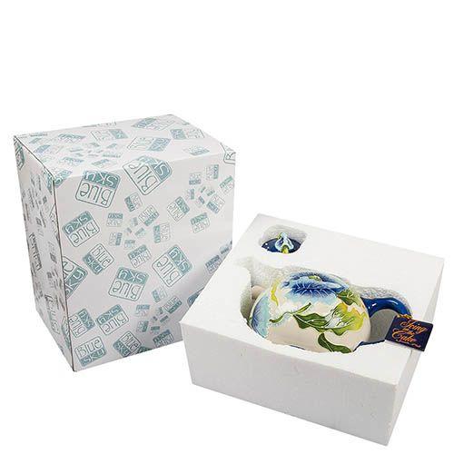 Заварочный чайник Pavone Голубые маки, фото
