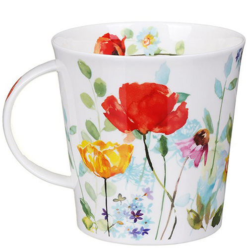 Чашка Dunoon Cairngorm Country Garden Маки 0,48 л, фото