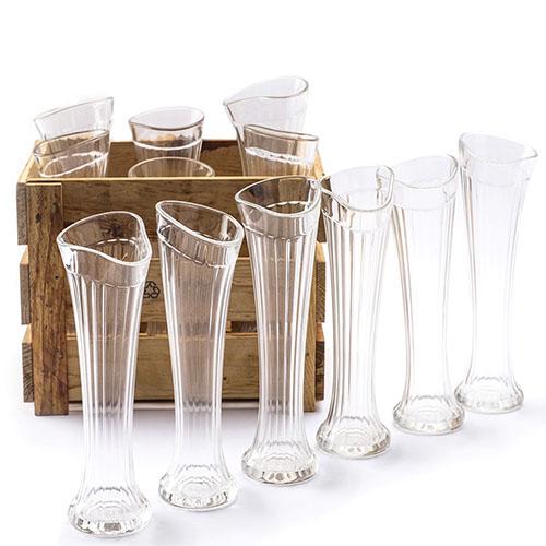 Набор Fomichov Brothers из 6 высоких граненых бокалов в деревянном ящике, фото