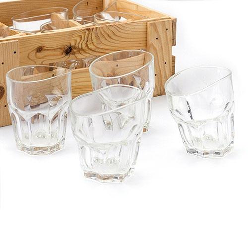 Набор Fomichov Brothers из 6 стаканов для виски в деревянном ящике, фото
