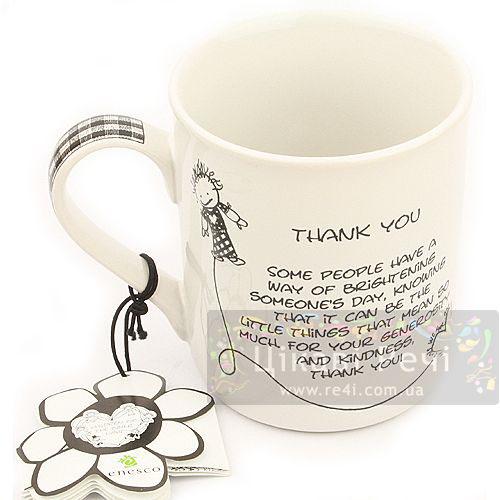 Чашка Спасибо Enesco, фото