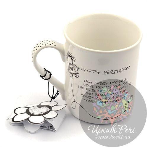 Чашка С Днем Рождения Enesco, фото