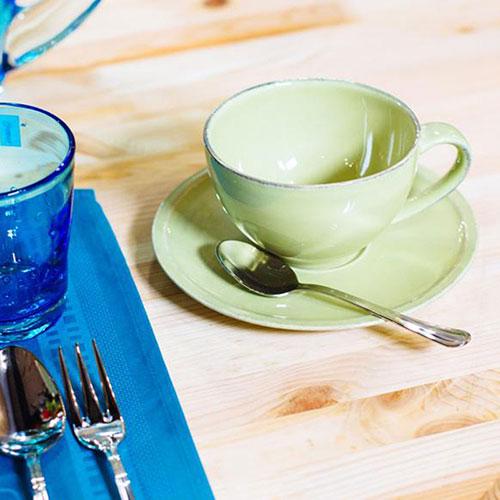 Набор чашек с блюдцами Costa Nova Friso 6шт, фото