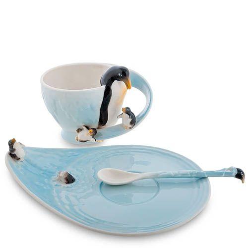 Чайная пара Pavone Пингвины, фото