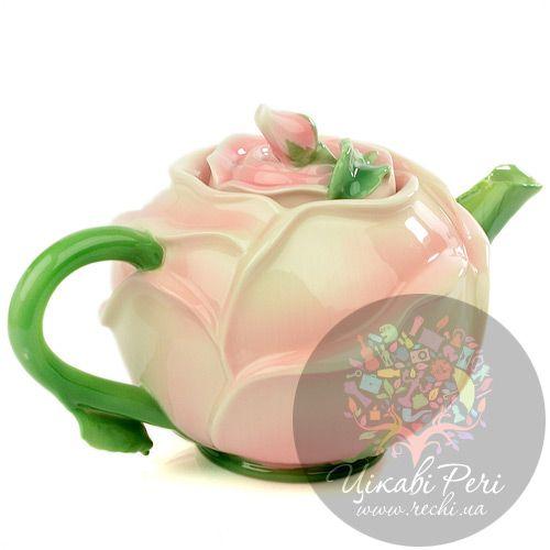 Заварочный чайник Роза Pavone, фото