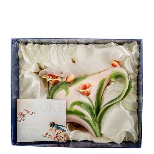Заварочный чайник Pavone Тюльпаны, фото