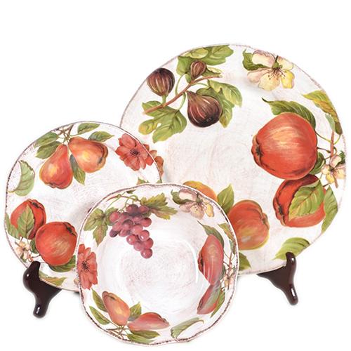 Тарелка для салата Villa Grazia Осенний ноктюрн 21см, фото
