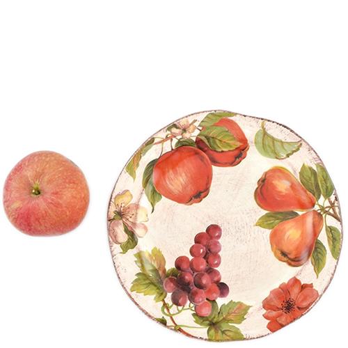 Набор тарелок для салата Villa Grazia Осенний ноктюрн на 6 персон, фото