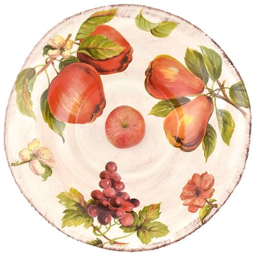 Большой салатник Villa Grazia Осенний ноктюрн 38см, фото