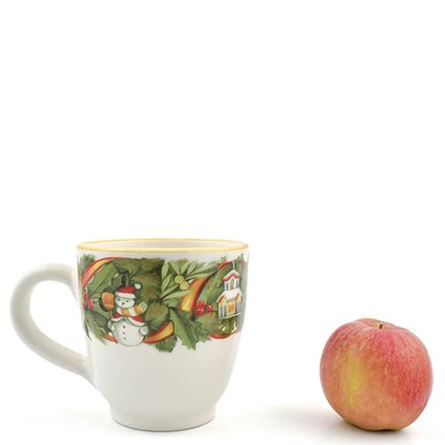 Чашка для чая Villa Grazia Яркое Рождество, фото