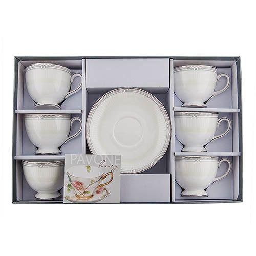 Чайный набор Pavone на шесть персон Венецианская Классика, фото