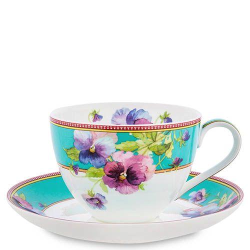 Чайный набор Pavone на четыре персоны Viola, фото