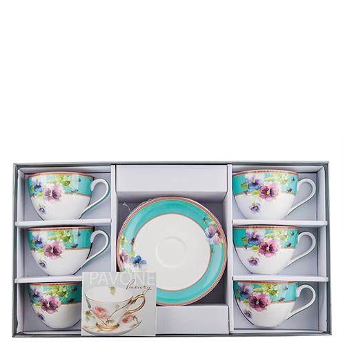 Чайный набор Pavone на шесть персон Виола Viola, фото