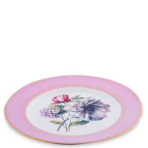 Чайный сервиз Pavone для шесть персон Цветок Неаполя из фарфора, фото
