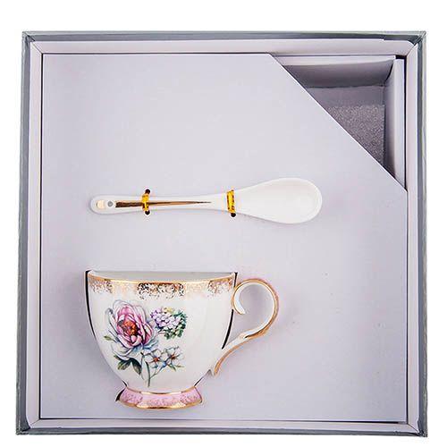 Чайная пара Pavone Цветок Неаполя, фото